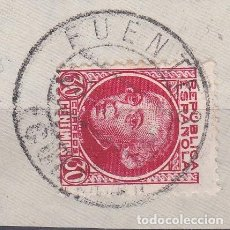 Sellos: CUENCA.- SELLO Nº 687 CON MATASELLOS FECHADOR FUENTES. Lote 118020003