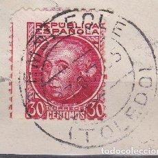 Sellos: TOLEDO.- SELLO Nº 687 MATASELLO FECHADOR DE TEMBLEQUE. Lote 182239735