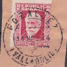 Sellos: VALLADOLID.- SELLO Nº 669 MATASELLO FECHADOR POZALBEZ. Lote 118579247