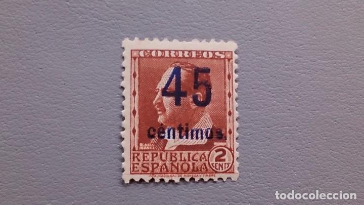 ESPAÑA - 1938 - II REPUBLICA - EDIFIL NE 28 - MNH** - NUEVO - CENTRADO - VALOR CATALOGO 120€. (Sellos - España - II República de 1.931 a 1.939 - Nuevos)