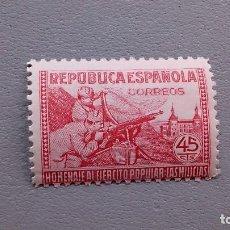 Sellos: ESPAÑA - 1938 - EDIFIL 795 - MNH** - NUEVO - HOMENAJE EJERCITO POPULAR - MILICIAS.. Lote 121286911