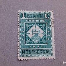 Sellos: ESPAÑA - 1931 - II REPUBLICA - EDIFIL 636 - IX CENTENARIO DE LA FUNDACION DE MONTSERRAT.. Lote 121896579