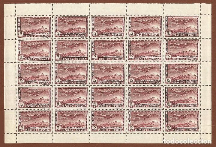 Sellos: II REPÚBLICA.1931.UNIÓN POSTAL PANAMERICANA.SERIE NUEVA EN PLIEGOS.Edifil 614-619 - Foto 2 - 122024447