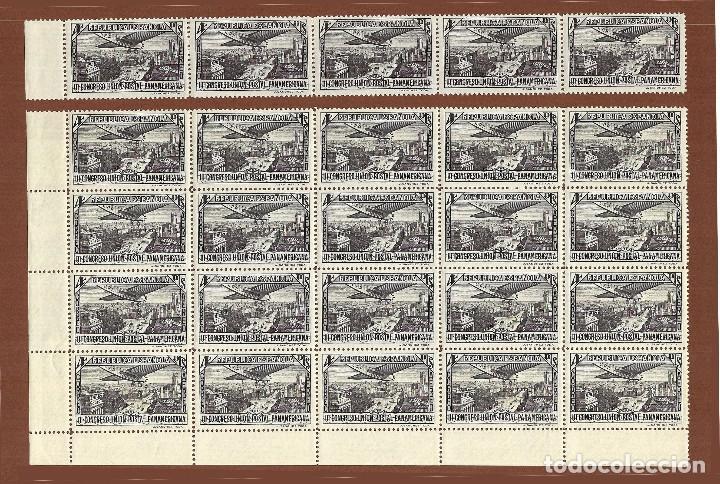 Sellos: II REPÚBLICA.1931.UNIÓN POSTAL PANAMERICANA.SERIE NUEVA EN PLIEGOS.Edifil 614-619 - Foto 7 - 122024447