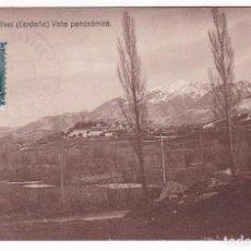 Sellos - F25-59-Postal BELLVER (Cerdaña)- BARBASTRO 1934. Carteria I Particular BELLVER - 122047899