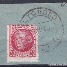 Sellos: TOLEDO.- SELLO Nº 687 MATASELLO FECHADOR DE EL TOBOSO. Lote 182239787