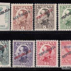 Sellos: ESPAÑA, MADRID 1931 EDIFIL Nº 1 / 8 / * / . Lote 125077279