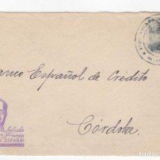 Sellos: 1936 FRAGMENTO SOBRE DIRIGIDO A CORDOBA CON FIGURA FRANCO. Lote 125127319