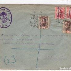 Sellos: 1932 SOBRE AZUL DIRIGIDO A MADRID DESDE AYTO. DE LUGO REPUBLICANO. Lote 125202919