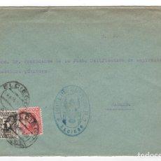 Sellos: 1931 SOBRE AZUL DIRIGIDO A MADRID DESDE AYTO. DE EL CIEGO (RIOJA). Lote 125251499