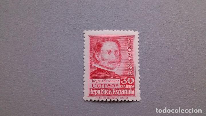 ESPAÑA - 1937 - II REPUBLICA - EDIFIL 726 - MNH** - NUEVO - GREGORIO FERNANDEZ (Sellos - España - II República de 1.931 a 1.939 - Nuevos)