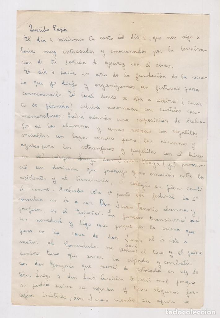Sellos: SOBRE CONSERVANDO LA CARTA DE MADRID A CUENCA. RARO FRANQUEO. 1938 - Foto 2 - 127275999