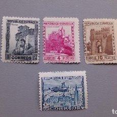 Sellos: ESPAÑA - 1938 - II REPUBLICA - EDIFIL 770/772 - SERIE COMPLETA - MNH** - NUEVOS.. Lote 159566328