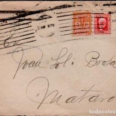 Sellos - C15-1-4 Historia Postal Sobre con carta, circulado de BARCELONA a MATARO el 13 de Marzo de 1934. - 128831467