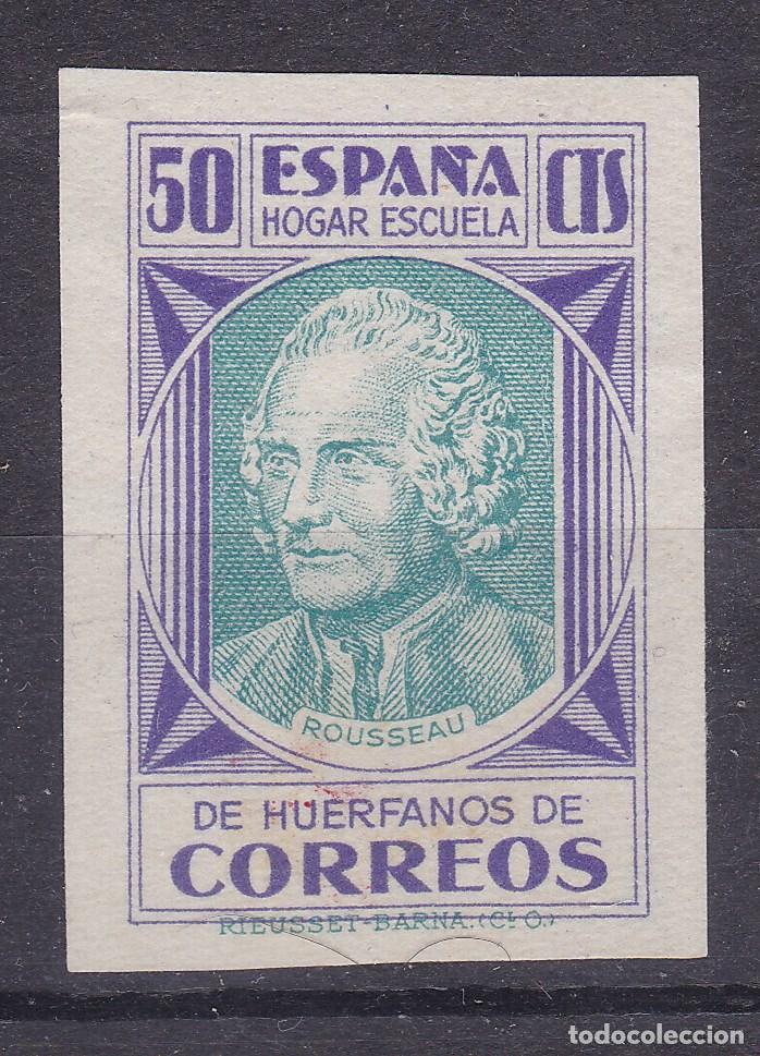 BB24- BENÉFICOS CORREOS EDIFIL 15S . SIN DENTAR (*) SIN GOMA (Sellos - España - II República de 1.931 a 1.939 - Nuevos)