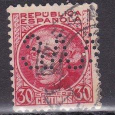 Sellos: VV16- JOVELLANOS REPÚBLICA PERFORADO SAA ANTEQUERA. Lote 130685839