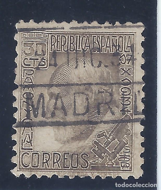EDIFIL 680 SANTIAGO RAMÓN Y CAJAL 1934. EXCELENTE MATASELLOS DE MADRID DEL 24-DIC-1934. LUJO. (Sellos - España - II República de 1.931 a 1.939 - Usados)