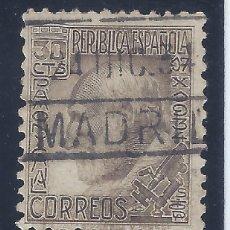 Sellos: EDIFIL 680 SANTIAGO RAMÓN Y CAJAL 1934. EXCELENTE MATASELLOS DE MADRID DEL 24-DIC-1934. LUJO.. Lote 132360254