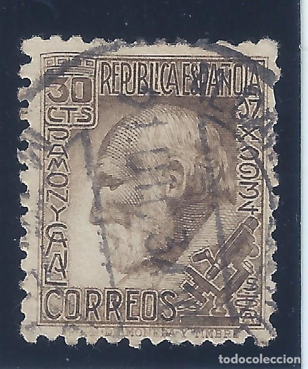 EDIFIL 680 SANTIAGO RAMÓN Y CAJAL 1934. BUEN CENTRADO. MATASELLOS 21-12-1934. (Sellos - España - II República de 1.931 a 1.939 - Usados)