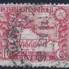 Sellos: EDIFIL 694 EXPEDICIÓN AL AMAZONAS 1935. EXCELENTE CENTRADO. MATASELLOS DE 16-10-1935.. Lote 132417538