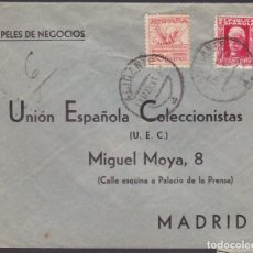 Sellos - CM3-75- República Carta Papeles Negocios Urgente ALICANTE 1933 - 134023730