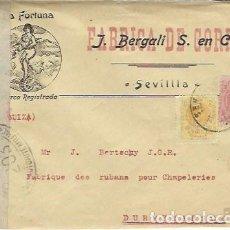 Sellos: CARTA A SUIZA CON CENSURA MILITAR . Lote 134168990