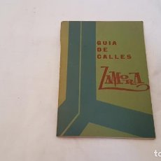 Sellos: GUÍA DE CALLES DE ZAMORA AÑO 1977 CAJA AHORROS - CAJA AHORROS PROVINCIAL DE ZAMORA. Lote 138008372