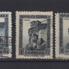 Sellos: 1936 Y 1938 REPUBLICA ESPAÑOLA EDIFIL 673 - 770 - 770A VC 24,00€. Lote 139291382
