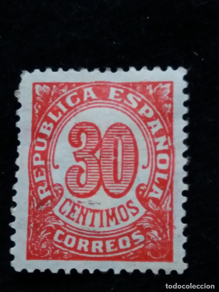 CORREOS REPUBLICA ESPAÑOLA 30 CTS.- 1938 (Sellos - España - II República de 1.931 a 1.939 - Nuevos)