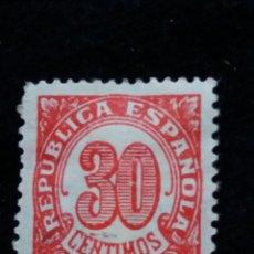 Sellos: CORREOS REPUBLICA ESPAÑOLA 30 CTS.- 1938. Lote 140171754