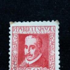 Sellos: CORREOS REPUBLICA ESPAÑOLA LOPE DE VEGA 30 CTS.- 1935 USADO. Lote 140173498