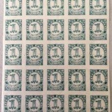 Sellos: 1937-ESPAÑA CIFRAS, CID E ISABEL EDIFIL 814 CIFRAS - BLOQUE 25 UNIDADES - VC2018: 8,75 €. Lote 141436890