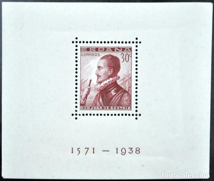 1938 DON JUAN DE AUSTRIA, 30 CÉNTIMOS. EDIFIL 862, 20 HB, NUEVO SIN SEÑAL DE CHARNELA (Sellos - España - II República de 1.931 a 1.939 - Nuevos)