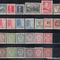 Sellos: ESPAÑA, 1935 - 1938 LOTE DE SERIES COMPLETAS, /*/ . Lote 142693870