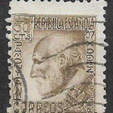 Sellos: ESPAÑA 1934 - EDIFIL 680 USADO - 12/48. Lote 144575778