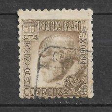 Sellos: ESPAÑA 1934 - EDIFIL 680 USADO - 12/48. Lote 144575802