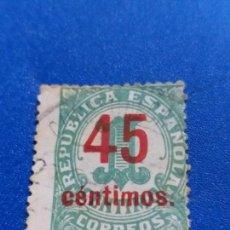 Selos: USADO. AÑO 1938. EDIFIL 742. CIFRAS. HABILITADOS. . Lote 145138270