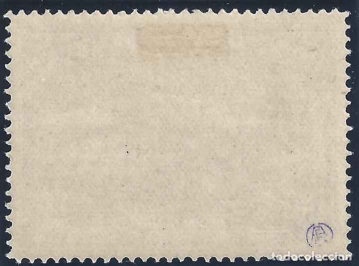 Sellos: EDIFIL 759 DEFENSA DE MADRID 1938. SOBRECARGA AUTÉNTICA. CERTIFICADO CMF. LUJO. MLH. - Foto 3 - 145326350