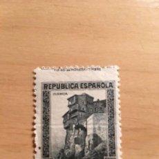 Sellos: SELLO 1 PTS CASAS COLGANTES CUENCA REPUBLICA, VARIEDAD DE IMPRESION,EDIFIL NUM 673 FALLO IMPRESION . Lote 145599374