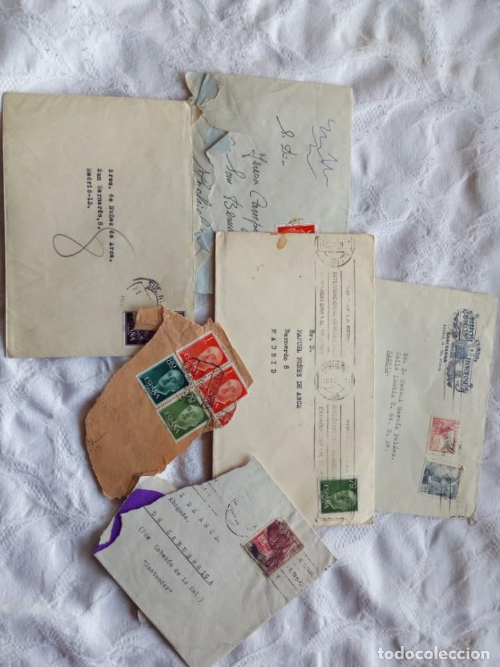 Sellos: Sobres y cartas epoca republica y guerra civil. Filatelia.sellos.españa.franco.republicanos - Foto 4 - 146726006