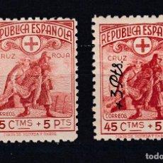 Sellos: 1938 EDIFIL 767/68** NUEVOS SIN CHARNELA. CRUZ ROJA ESPAÑOLA. Lote 147543558