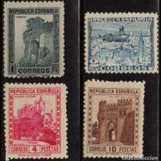 Sellos: ESPAÑA 770/72** - AÑO 1938 - MONUMENTOS Y AUTOGIRO. Lote 186276636