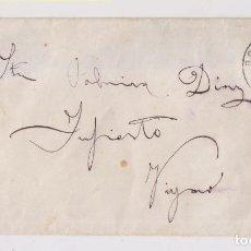 Sellos: SOBRE DE BORINES, PILOÑA, ASTURIAS. 1935. Lote 150301438