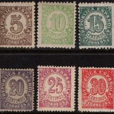 Sellos: ESPAÑA 745/50** - AÑO 1938 - CIFRAS. Lote 181142011