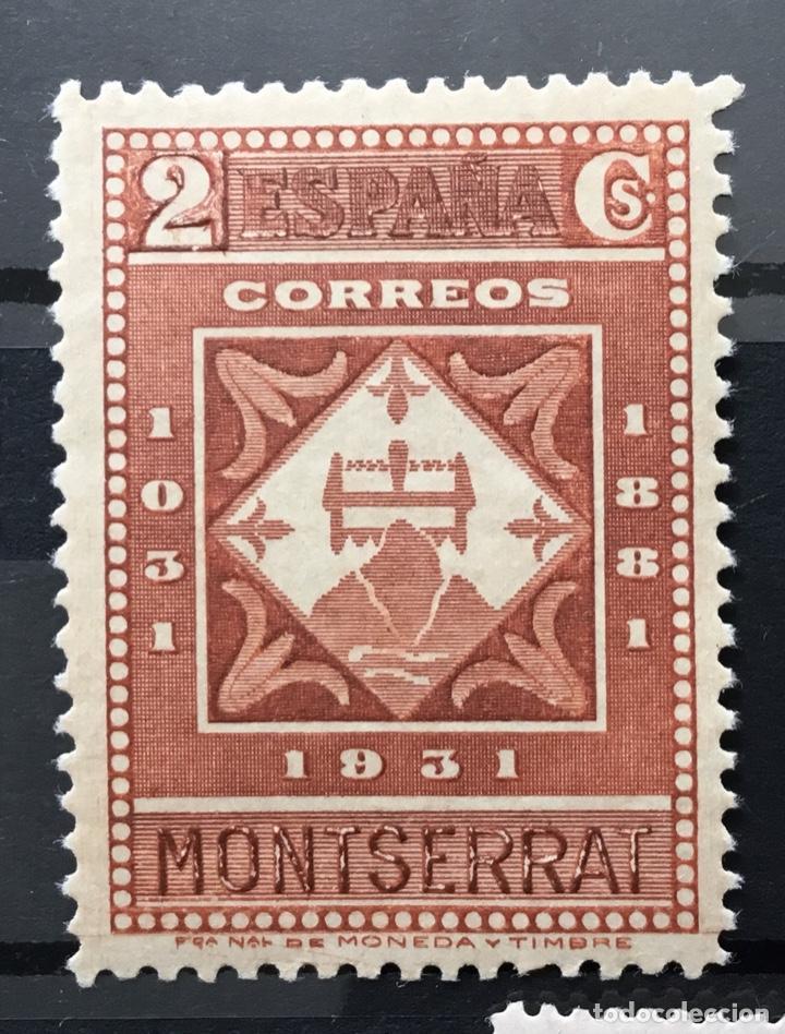 Sellos: España 1931 - IX centenario Fundación monasterio de Montserrat - Edifil 636/649** MNH. Certificado - Foto 6 - 152728870