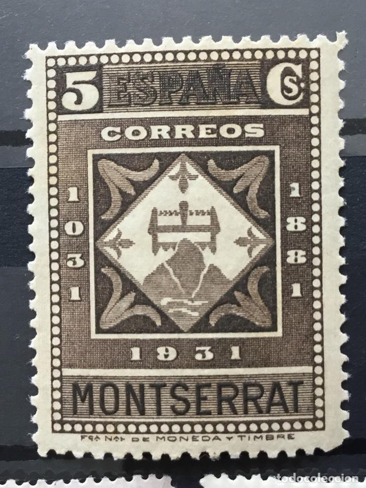 Sellos: España 1931 - IX centenario Fundación monasterio de Montserrat - Edifil 636/649** MNH. Certificado - Foto 7 - 152728870