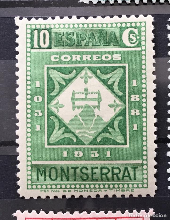 Sellos: España 1931 - IX centenario Fundación monasterio de Montserrat - Edifil 636/649** MNH. Certificado - Foto 8 - 152728870