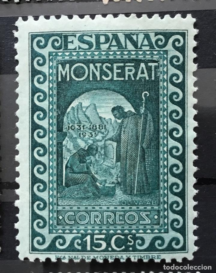 Sellos: España 1931 - IX centenario Fundación monasterio de Montserrat - Edifil 636/649** MNH. Certificado - Foto 9 - 152728870