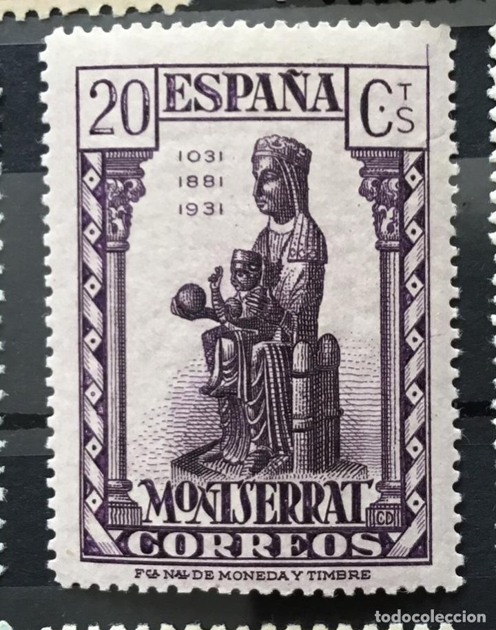 Sellos: España 1931 - IX centenario Fundación monasterio de Montserrat - Edifil 636/649** MNH. Certificado - Foto 10 - 152728870