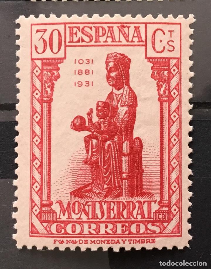 Sellos: España 1931 - IX centenario Fundación monasterio de Montserrat - Edifil 636/649** MNH. Certificado - Foto 12 - 152728870